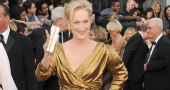 Meryl Streep wins Best Actress at Oscars 2012