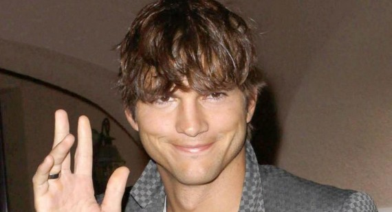 Why is Ashton Kutcher growing his hair out?