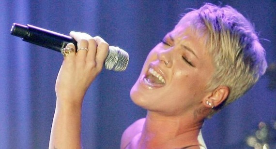 How did P!nk get her name?