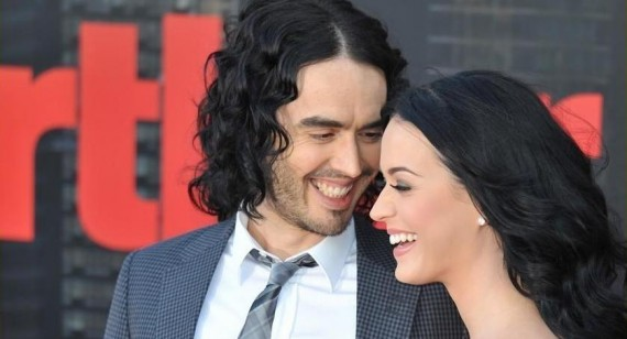 Why is Katy Perry with Russell Brand?