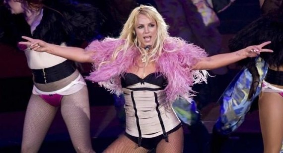 Why is Britney Spears beating herself up in her new vid?