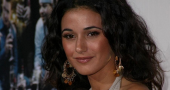 Emmanuelle Chriqui expecting pregnant Sloan in Entourage movie