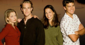 Katie Holmes, Joshua Jackson and James Van Der Beek sign up for Dawson's Creek movie