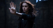 Lily Collins discusses The Mortal Instruments: City of Bones hype