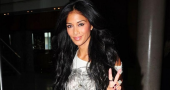 Nicole Scherzinger discussed her Christmas diet and fitness regime