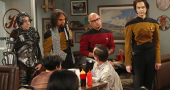 The Big Bang Theory set for Bob Newhart guest appearance