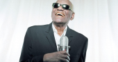 A commemorative stamp of Ray Charles has been released