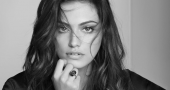 Phoebe Tonkin reveals her cleavage in gutsy denim ad