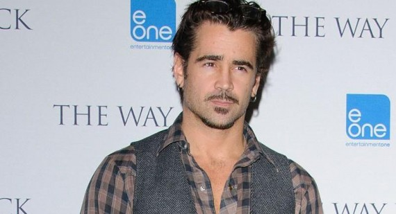 What did Colin Farrell use in his hair in 'Miami Vice'?